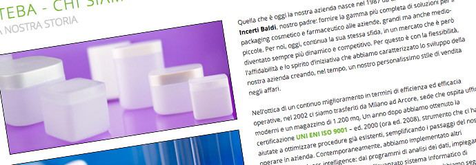 steba srl design web