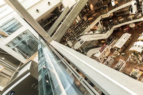 Impianti milanesi Maspero elevatori Eataly