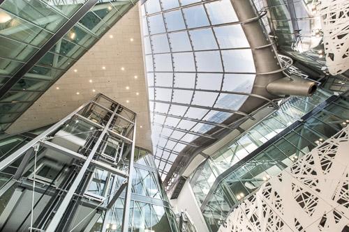 Impianti milanesi Maspero elevatori Expo Palazzo Italia