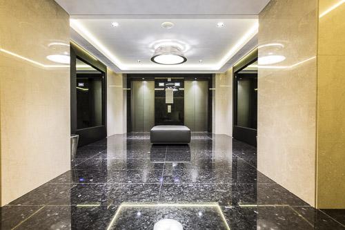 Impianti milanesi Maspero elevatori Hotel Gallia