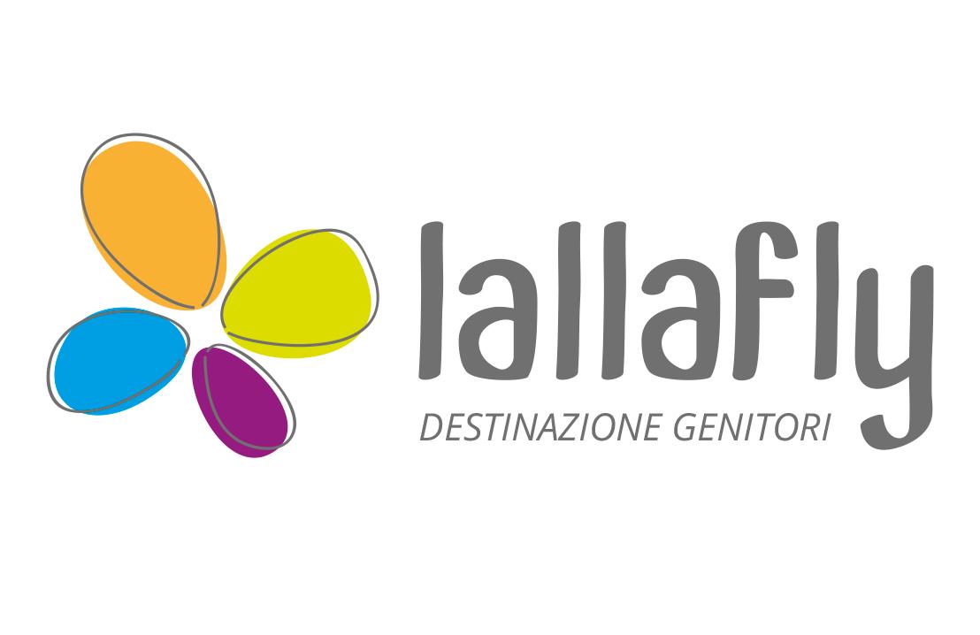 progetto logo LALLAFLY srl destinazione genitori