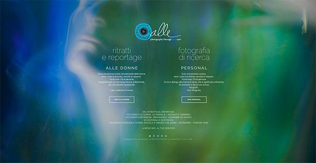 Sito web Alle Bonicalzi - fotografia
