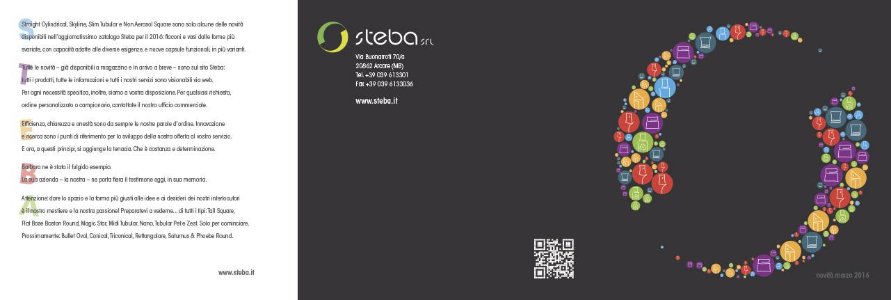 Catalogo prodotti Steba