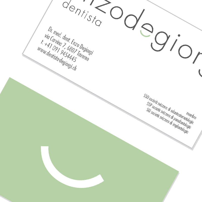 allegropanico degiorgi dentista logo