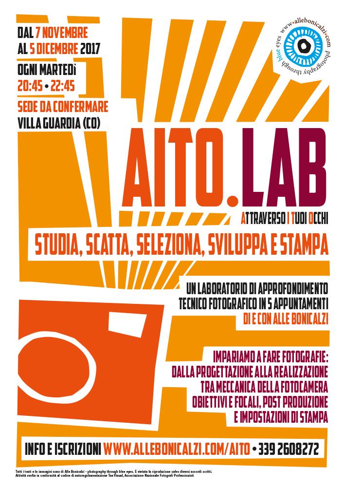 AITO Lab - laboratorio di approfondimento fotografico in 5 lezioni